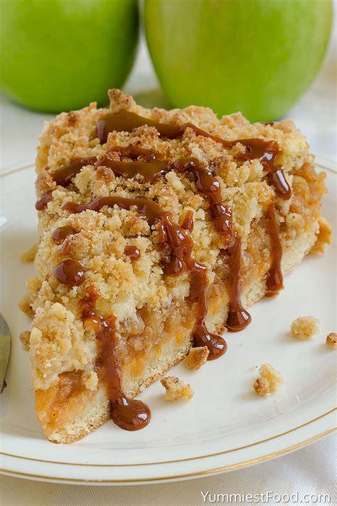 best apple for apple crumble caramel apple crumb cake recipe