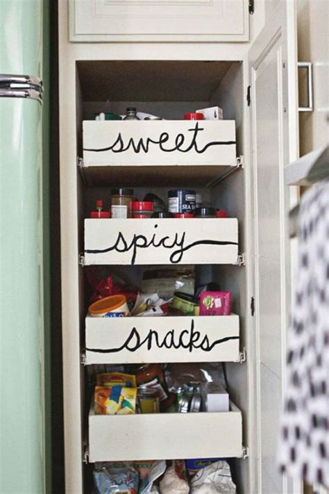things to put on shelves 21 clever ways to maximize kitchen cabinet storage