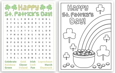 printable word search evolution free st patrick s day word search puzzles the jenny