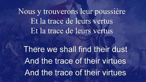 In L Lyrics by La Marseillaise The Song Of Marseille With Lyrics