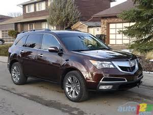 2010 Acura Mdx Review List Of Car And Truck Pictures And Auto123