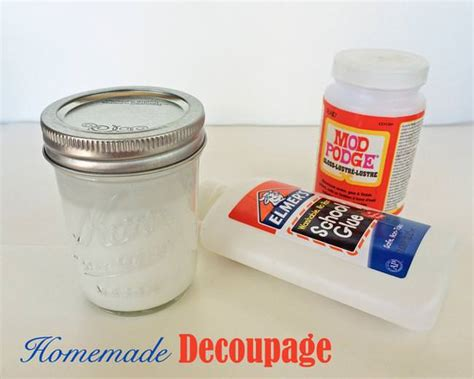 decoupage glue recipe decoupage tip junkie