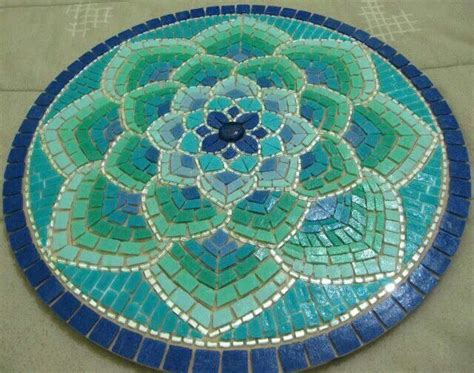 Pattern For Mosaic Table | martin alejo mangeaud table top stepping stone in a