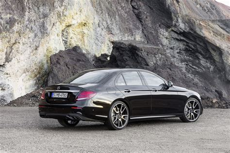 new 2017 mercedes amg e43 sedan brings a 396hp bi turbo v6