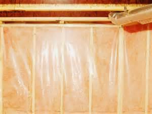vapor barrier basement wall how to install a basement vapor barrier hgtv