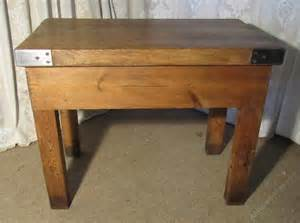 butchers table chopping block kitchen island antiques atlas