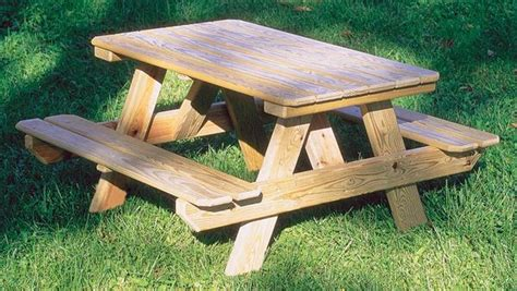childrens wooden picnic bench diy kids picnic table from pallet wood little tikes