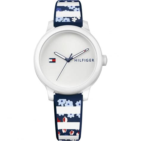 Ladies Ashley Multi Colour Patterned Strap Watch 1781779
