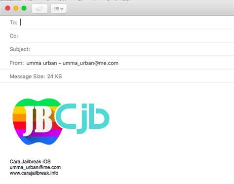 email apple indonesia cara membuat logo untuk signature email di mac os x