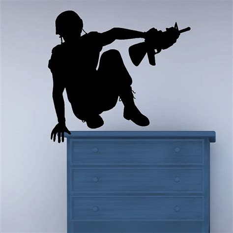 soldier wall stickers army soldier wall decal sticker removable vinyl by