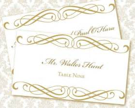 wedding placecard template 6 best images of free printable wedding place cards free