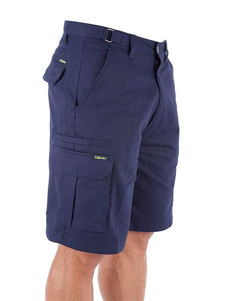 Pocket Shorts bisley 8 pocket cargo workwearhub