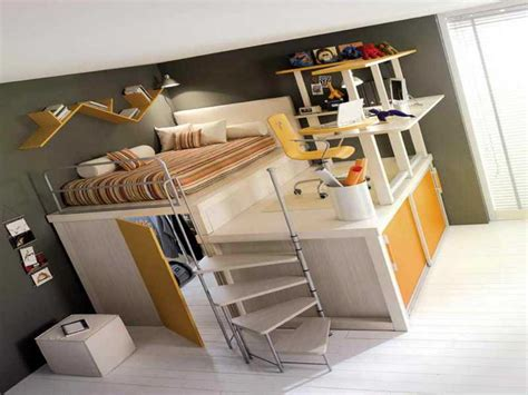 desk with bed loft bed with desk underneath kids furniture ideas