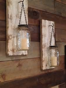 Rustic Wall Sconces Rustic Jar Wall Sconce Rustic White By Bcindustrialtreasure