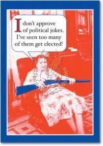 political jokes birthday card
