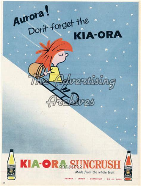 kia ora advert the advertising archives magazine advert kia ora 1950s