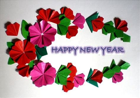 new year paper flower paper flower tutorial happy new year