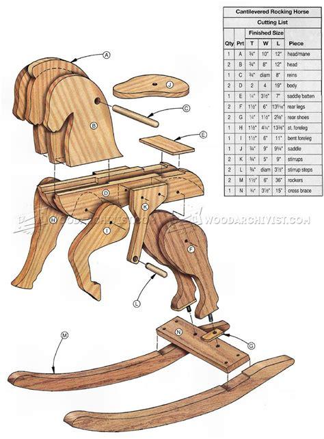 free rocking woodworking plans wooden rocking plans woodarchivist