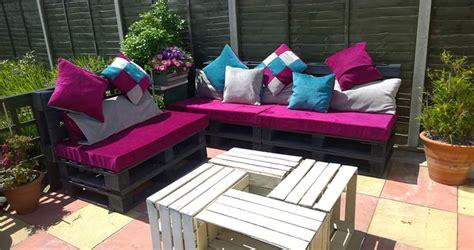 arredi con bancali mobili da giardino con bancali mobili da giardino con