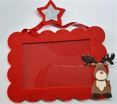 cornice natalizia cornice natalizia rossa con renna feste natale di