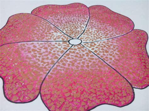 Lem Fox Isi Ulang anekaneka daur ulang kulit telur mozaik dari kulit telur
