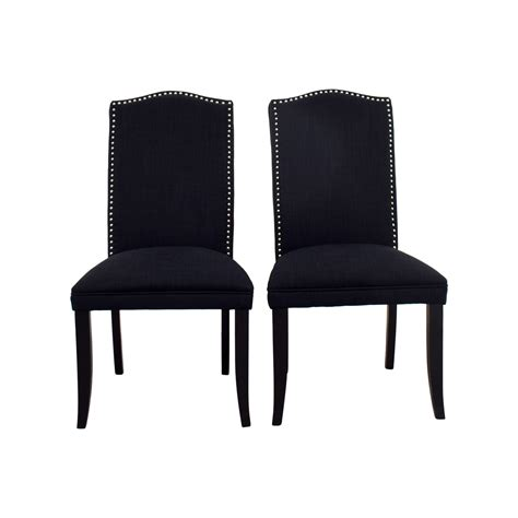 Upholstered Dining Chairs With Nailheads Cortesi Home Linen Upholstered Nailhead Chairs Coupon Nailhead Linen Upholstered Chairs