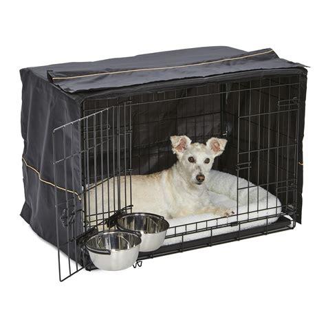 midwest dog crate starter kit  double door icrate pet