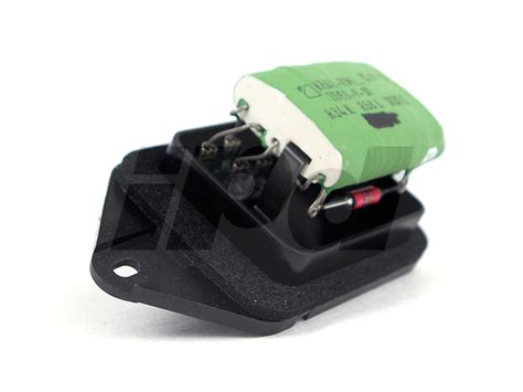 volvo heater fan blower resistor   electric climate control