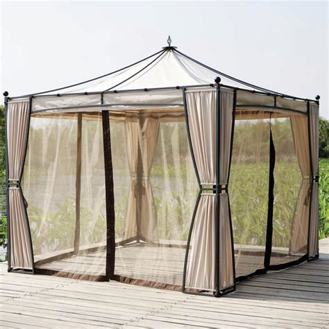 gazebo with netting gazebo with curtains and netting gazeboss net ideas