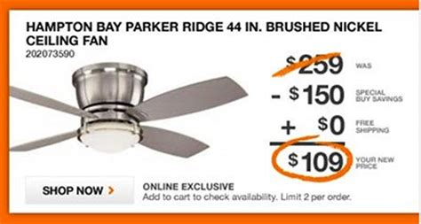 haiku fans coupon code home depot ceiling fan coupon code cyber monday deals on