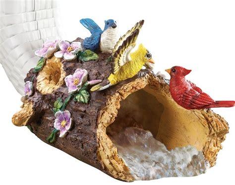 Pretty bird decorative downspout fresh garden decor