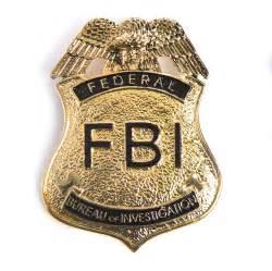 fbi police badge images
