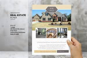 Real Estate Flyer Template Word by Ms Word Real Estate Flyer Template Flyer Templates