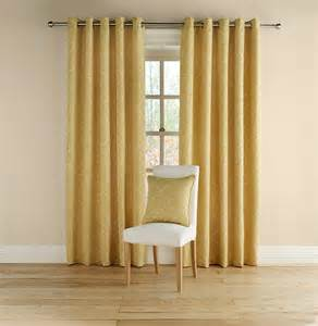 Mustard Colored Curtains Inspiration Buy Montgomery Rotunda Mustard Lined Eyelet Curtains 229cm Wide Mgrotmus 229 Fashion Interiors