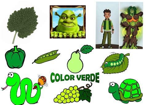 imagenes de cosas verdes infantil con gema colegio santa ana caspe tach 193 n el