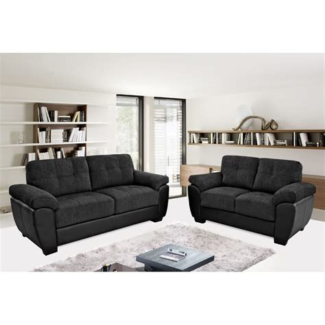 black fabric sofa newport black fabric leather match sofa collection