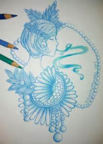 cool color drawings drawing dasies in cool colors by colormymemory on deviantart