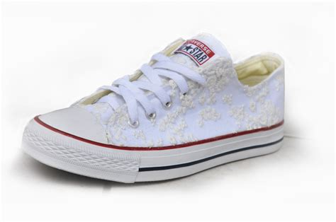 Lace Wedding Shoes For by Converse Wedding Shoes Lace Sneakers Wedding Shoes With Lace