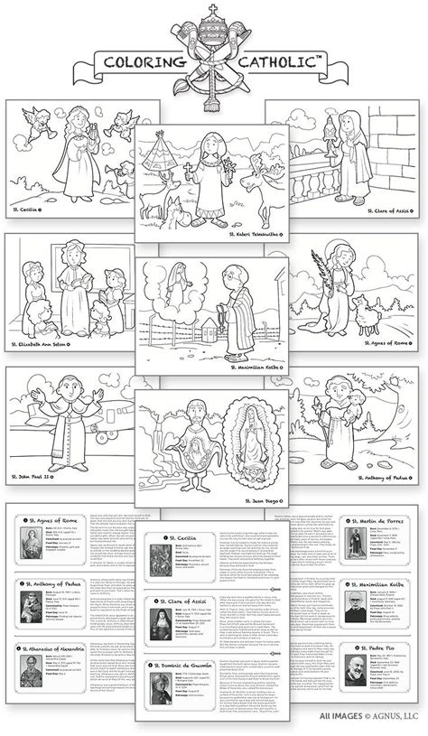 sections of mass catholic mass parts in order worksheet sketch coloring page