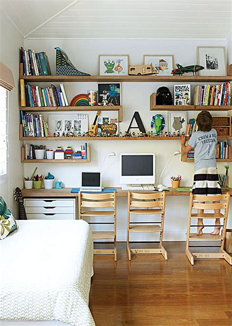 kids desk idea dormitorios juveniles as 205 puedes decorarlos blog de