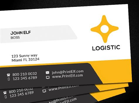 Best Home Design Blogs free business card design logistic corporate freelance