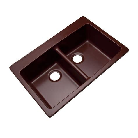 Dual Mount Sink by Mont Blanc Waterbrook Dual Mount Composite Granite 33 In