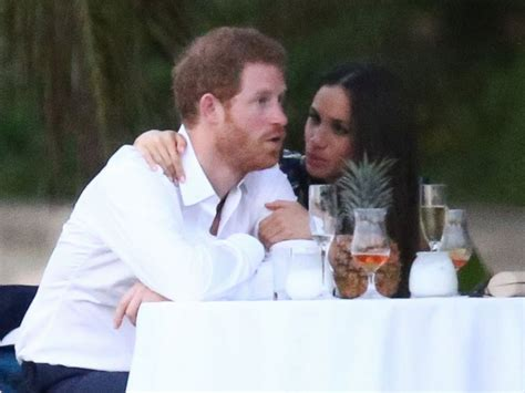 harry and meghan markle meghan markle gets surprise question about prince harry at
