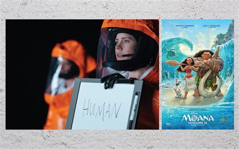 film fiksi drama film pilihan akhir pekan arrival sai moana