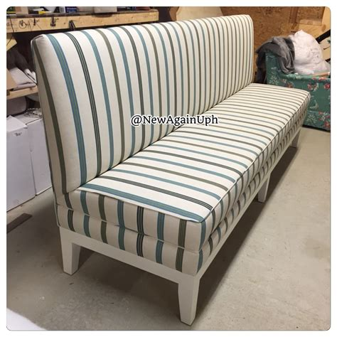 upholstered kitchen bench with back kitchen bench custom bench upholstered bench by newagainuph
