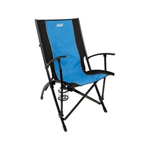 High Chair Kmart by Coleman Chair High Sling Back Blue Black 2000014213 Fitness Sports Outdoor Activities