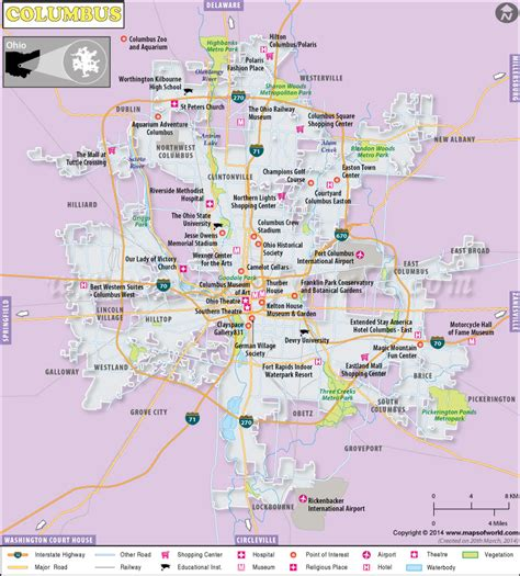 columbus ohio map usa map of columbus ga and surrounding cities afputra
