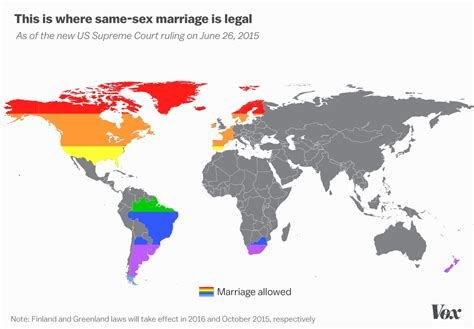 map shows  country  full marriage equality