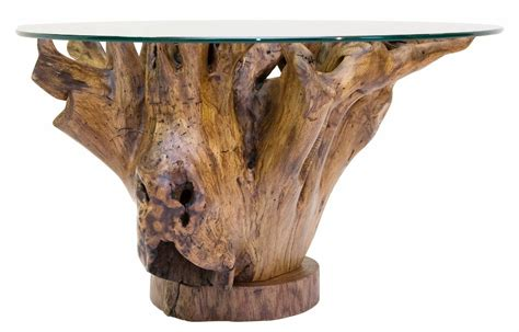 Wood Stump Table by Tree Stump Coffee Table