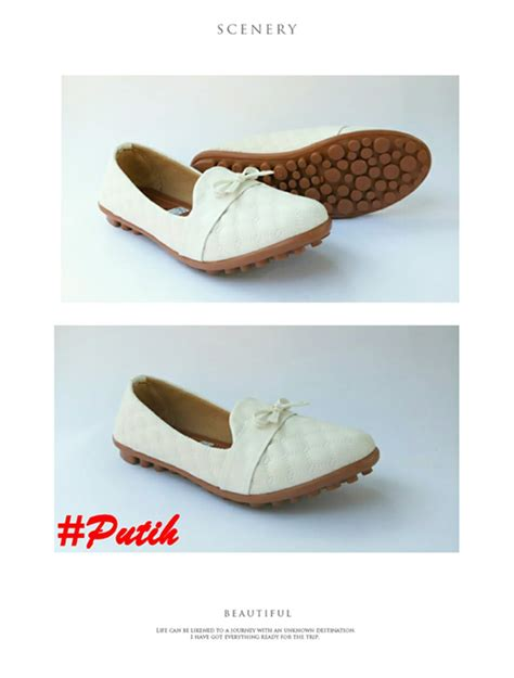 Sepatu Flat Shoes Motif Kelinci jual sepatu wanita flatshoes debby motif kulit ular di